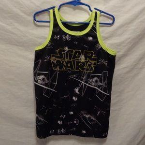 Star Wars Tank top Size 7